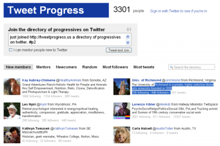 tweetprogress
